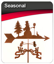 Seasonal Weather Vanes