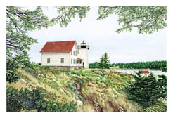 Maine Lighthouse Note Cards