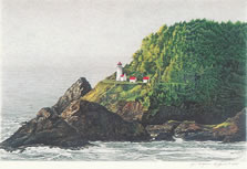 Heceta Head Lighthouse note card