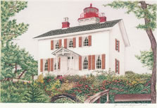 Oregon Lighthouse Note Cards