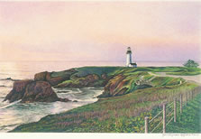 Yaquina Head Lighthouse note card
