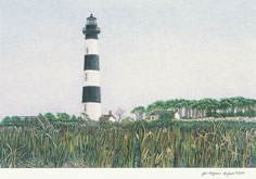 Bodie Island Lighthouse notecards