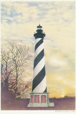 Carolinas Lighthouse Note Cards