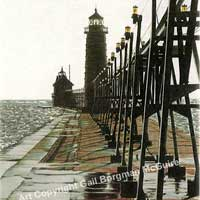 Gails Lighthouse Notecards