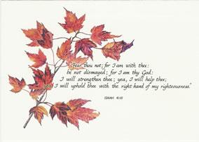 Isaiah 14:10 note card