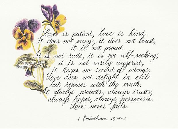 Love Is Patient, Love Is Kind 1 Corinthians 13:4-8 Scripture_love_is_kind_large