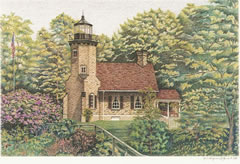 White River Lighthouse note cards