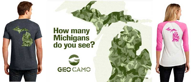 Michigan Geo Camo