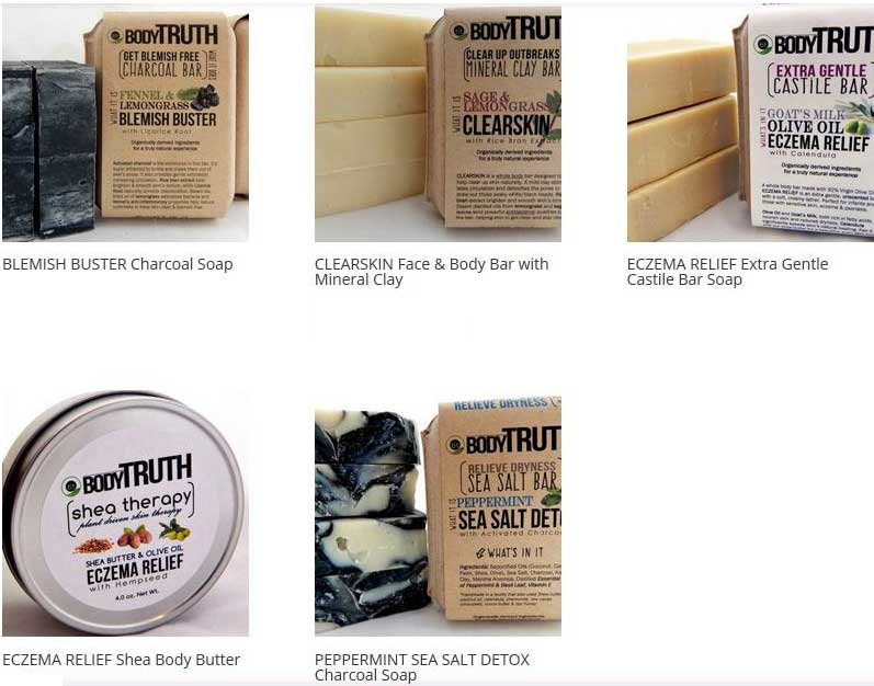 GH Soaps BodyTruth