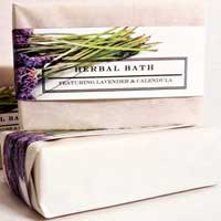 Herbal Lavender Calendula Soap Bar