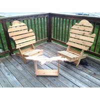 Michigan Three Piece Outdoor Set