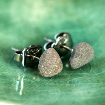 Lake Erie Rock Earrings