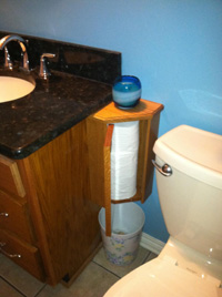 Toilet Paper Holder - Hide-A-Roll