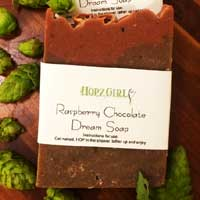 Raspberry Chocolate Hops Soap
