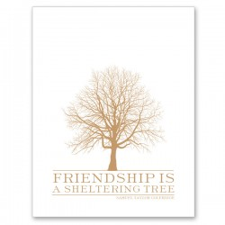 FRIEND Letterpress Card