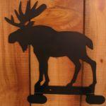 2 Hook Moose Iron Hanger