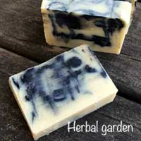 Herbal Garden Cold Compressed Soap All Natural