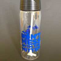 Don't Mess With The Mitten Water Bottle