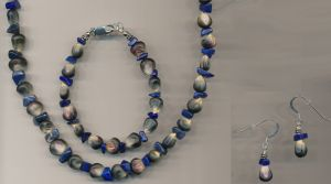 Hopi Blue Flour Corn Jewelry