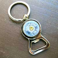Shotgun Shell Keychain Bottle Opener