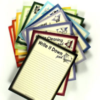 Themed Notepads