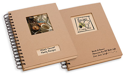 Personalized Recipes Journal