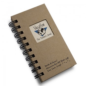 Vacation - The Traveler Mini Journal Write It Down Mini Size Journal