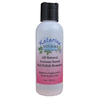 All Natural Acetone Based Nail Polish Remover