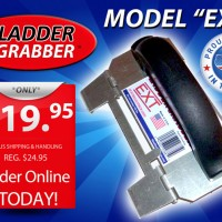 Ladder Grabber Ladder Handle by HandSaver Handles