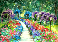 Dow Gardens Hand Signed Print 8×10 in 11×14 inch matte