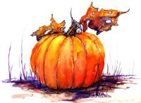 Pumpkin Spice Signed Print 8x10 in 11x14 matte