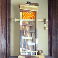 Butcher Block Gumball Machine