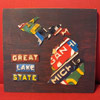 License Plate Art - Small Michigan Map