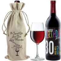 Introducing Linen Wine Bags by Little Red Wining Hood