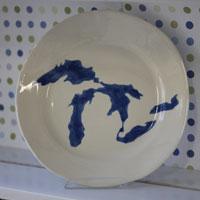 Michigan Bowls & Dishes