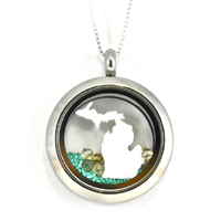 Michigan Torch Lake Locket