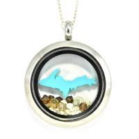 Michigan Upper Peninsula Locket
