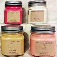 Lower Mitt Candle Co - 8 oz Mason Jar Candles