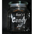 Engraved Candy Jar