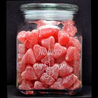Hooked On You Candy Jar