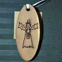 Laser Engraved Cedar Gift Tags/Ornaments