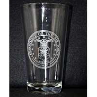 Laser Engraved Glass - Air Force