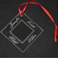 Acrylic Ornament - Diamond Shape