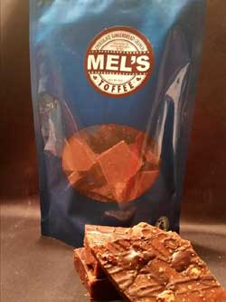 Chocolate Gingerbread Crunch Toffee