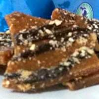 Honey Dark Rum Toffee