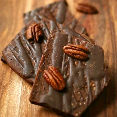 Maple Bourbon Pecan Toffee
