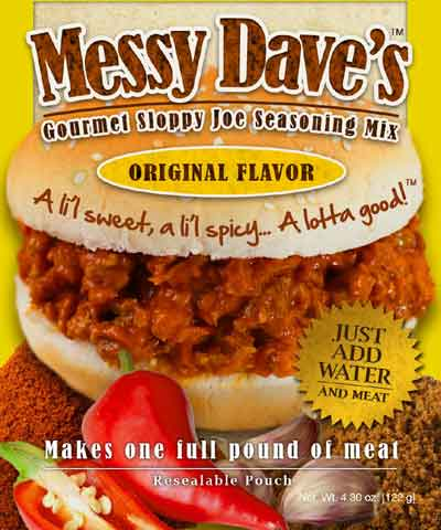 Messy Dave's Sloppy Joe Seasoning Mix