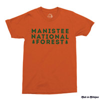 Manistee National Forest Tshirt – Unisex