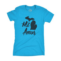 Women's Michigan Amor Tshirt