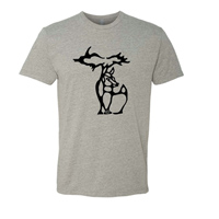 Michigan Deer Crewneck Tshirt